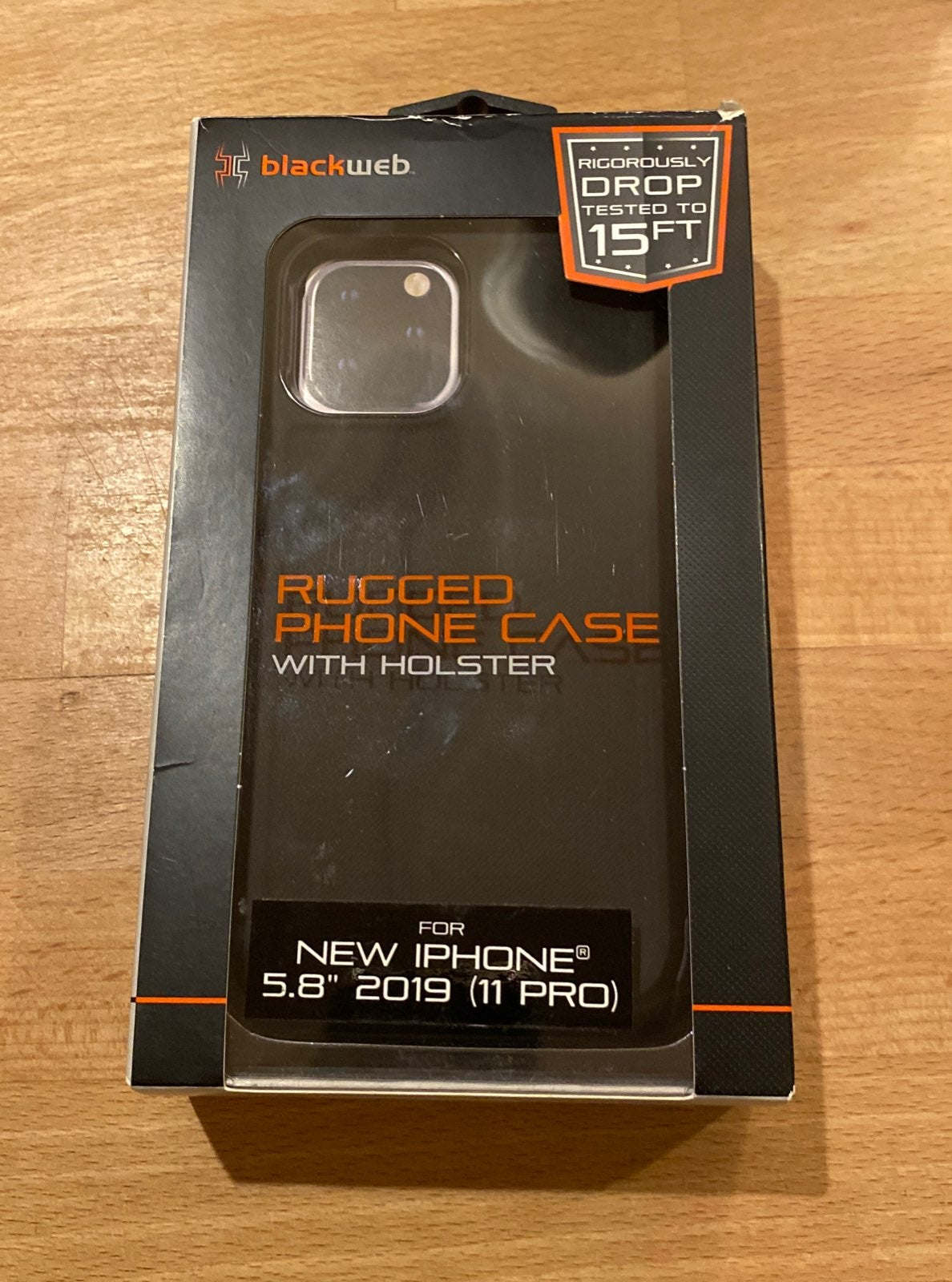 Blackweb Iphone 11 Pro Case /Holster 5.8