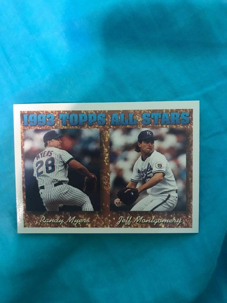 Various Topps All Star Baseball Cards (1