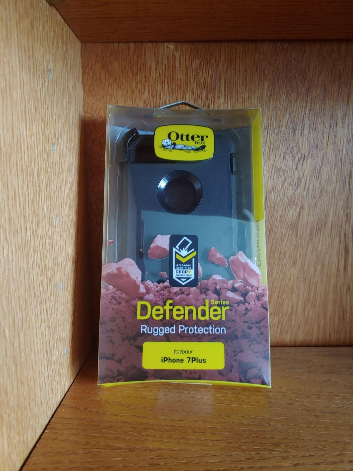 Otterbox iPhone 8 Plus 7 Plus Case Black