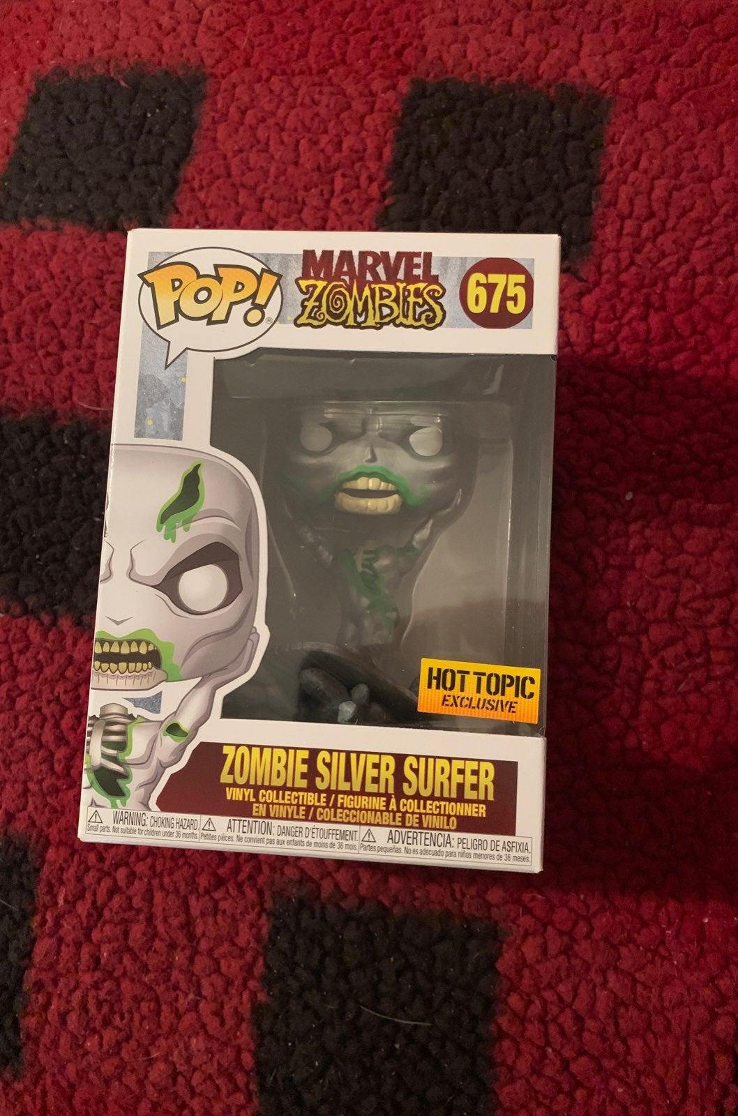 Zombie Silver Surfer