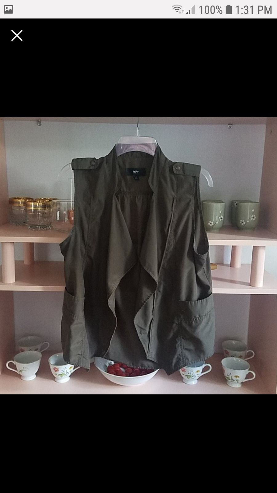 Mossimo Military Vest