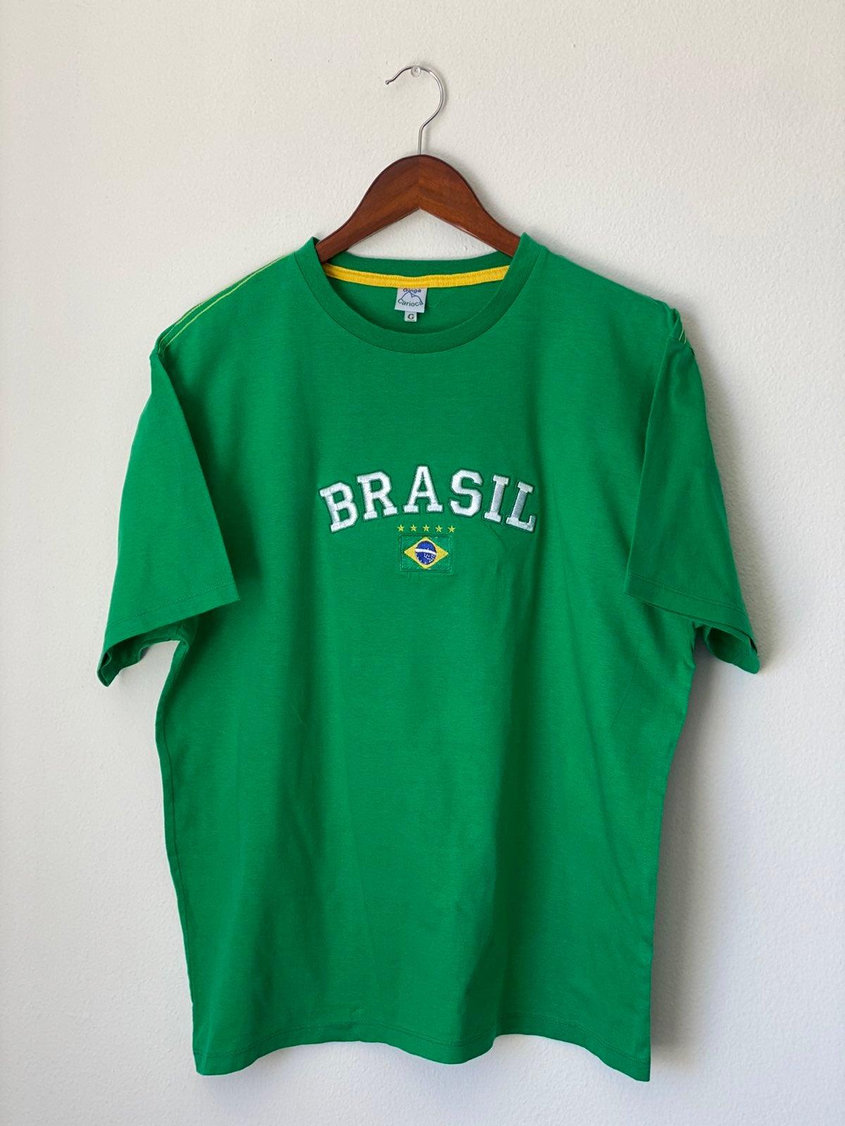 Vintage Brasil Shirt Sz L