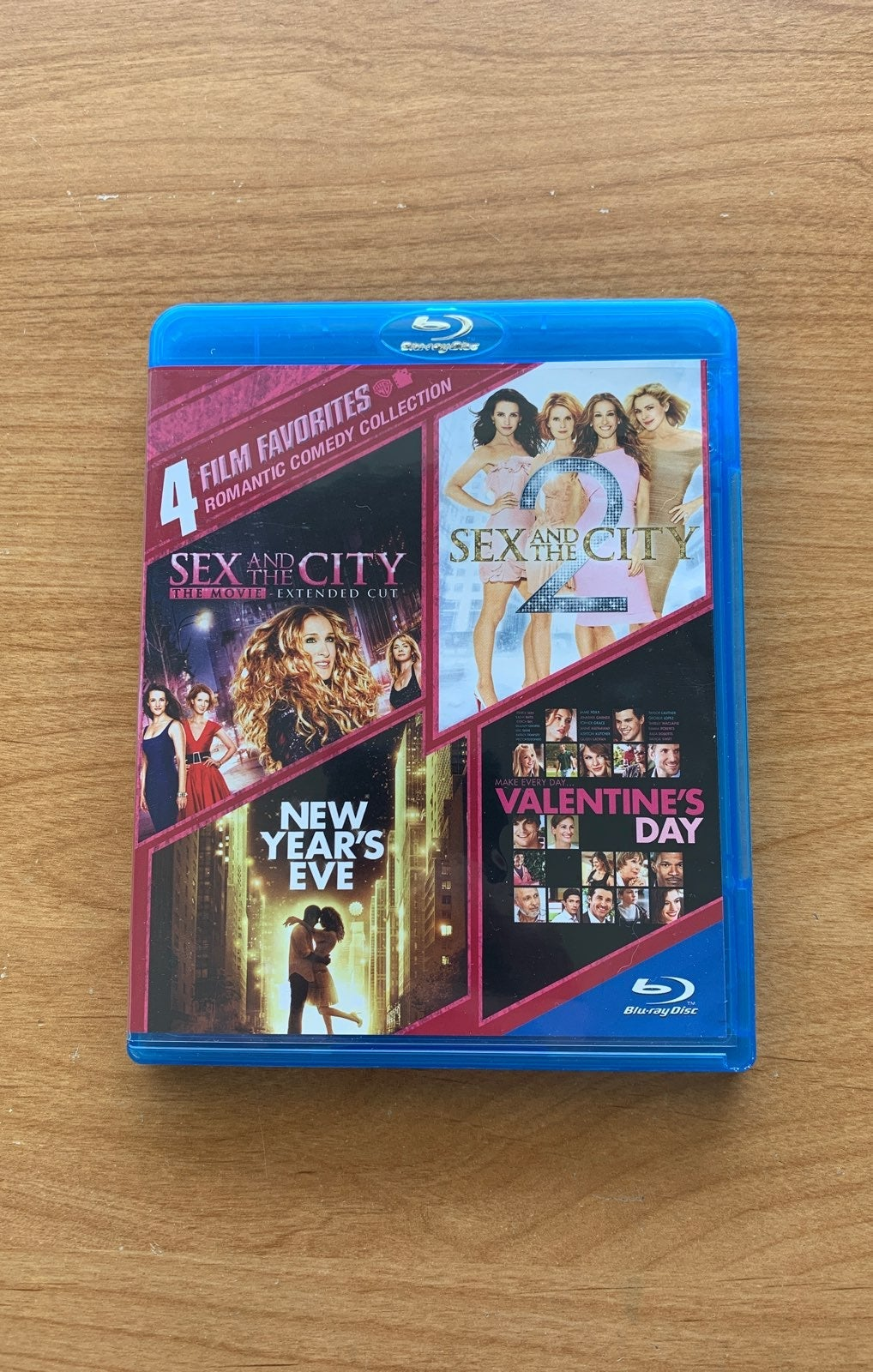 Sex and the City 4 film Bluray