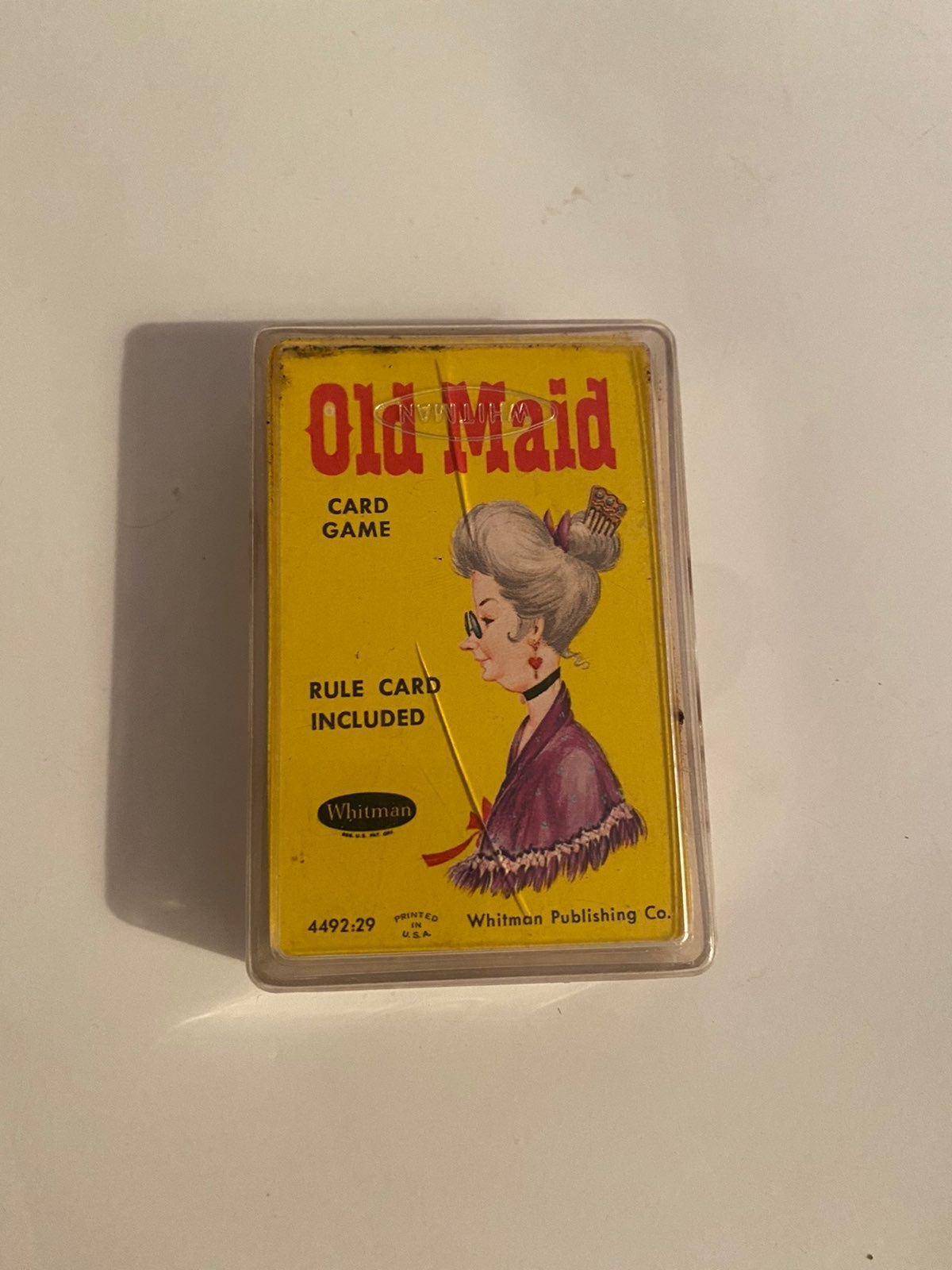 1960's Old Maid Card Game