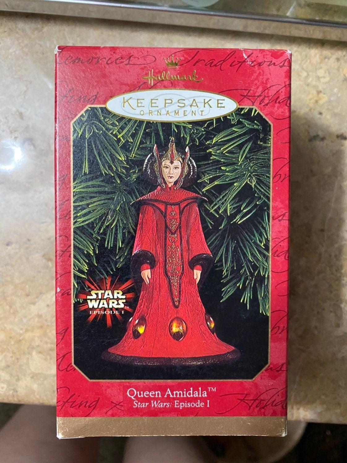 Queen Amidala Hallmark Ornament 1999