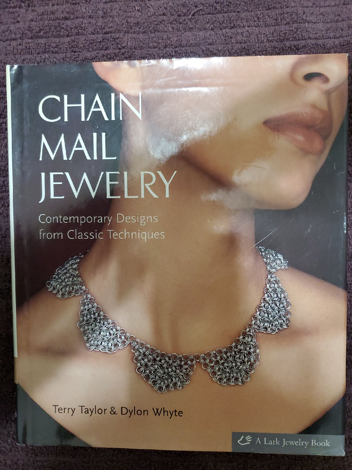 Hardcover Chainmaille Jewelry Book