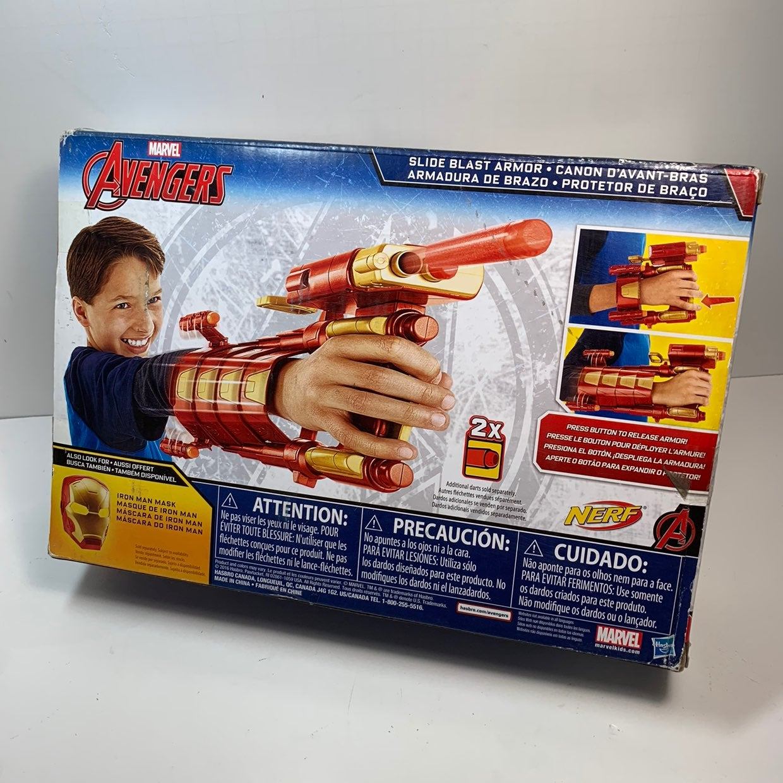 Iron Man nerf wrist dart gun blaster new