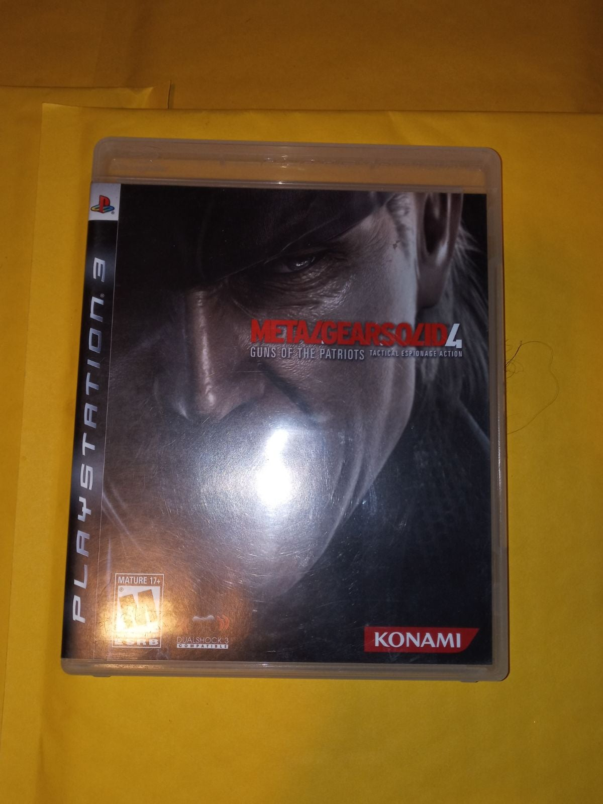 Metal Gear Solid 4 On Ps3 ( Complete )