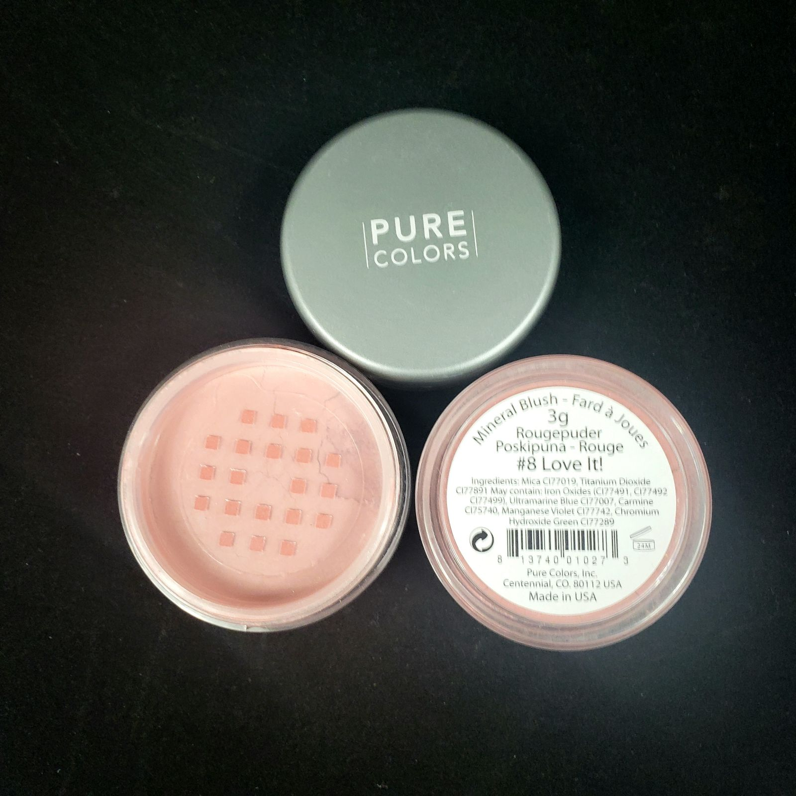 Pure Color #8 Love It! Mineral Blush