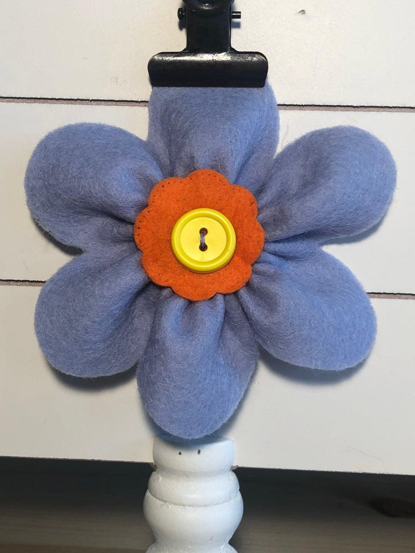 Felt Flower For Dog Collar