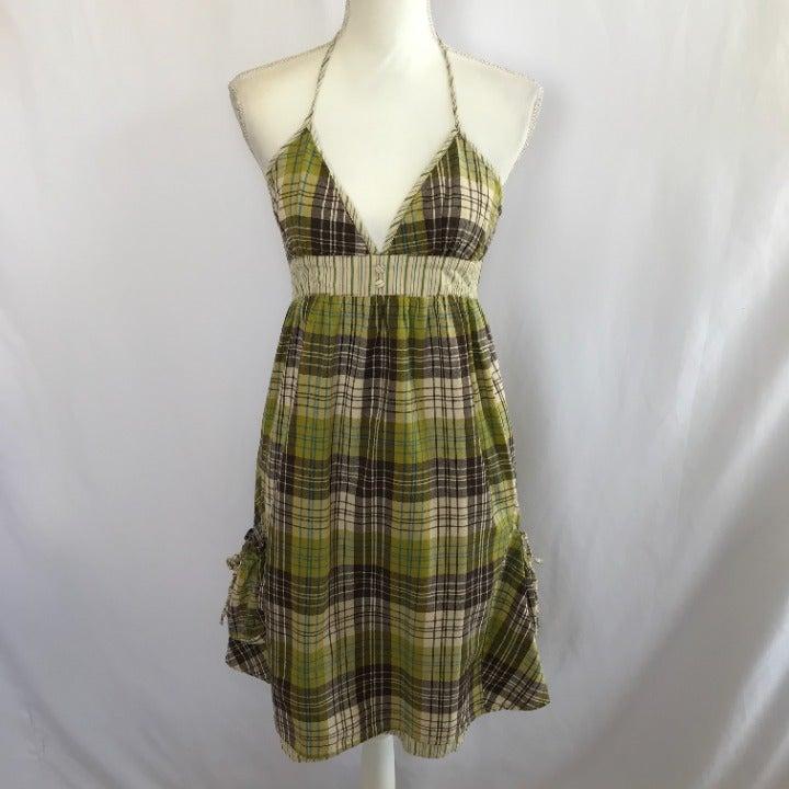 Billabong Plaid Dress