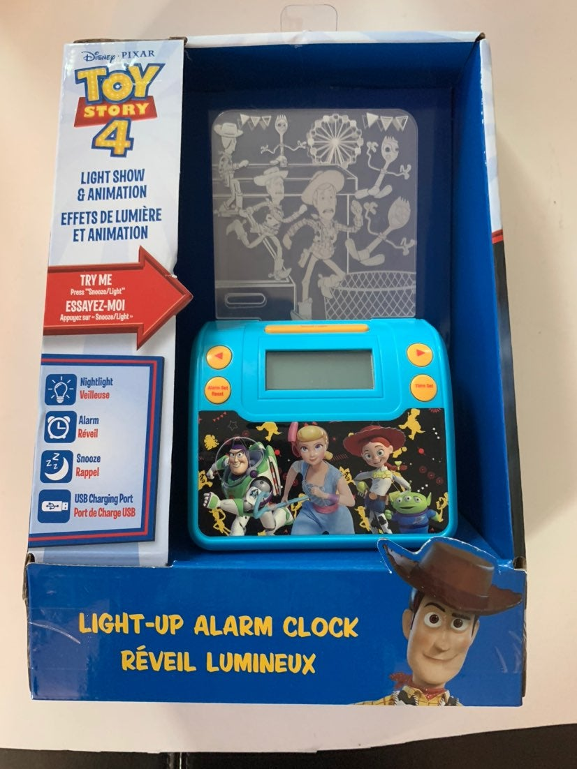 Toy Story 4 Nightlight and Alarm Clock