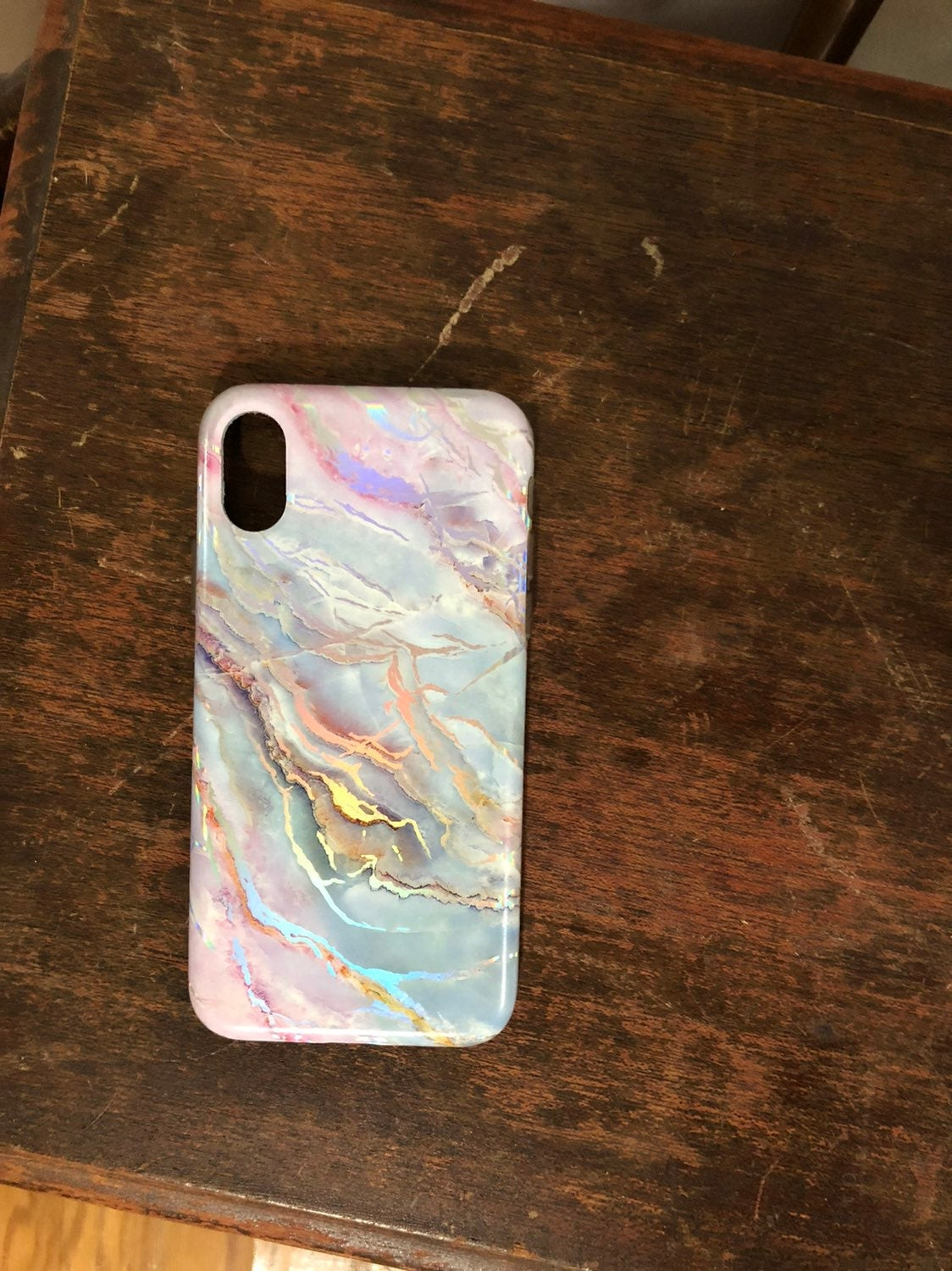 Moonstone Marble iPhone X Case