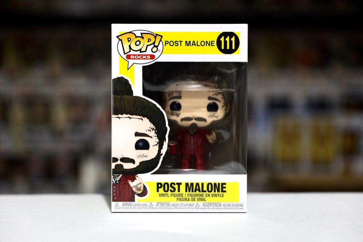 Funko Pop Rocks Post Malone #111