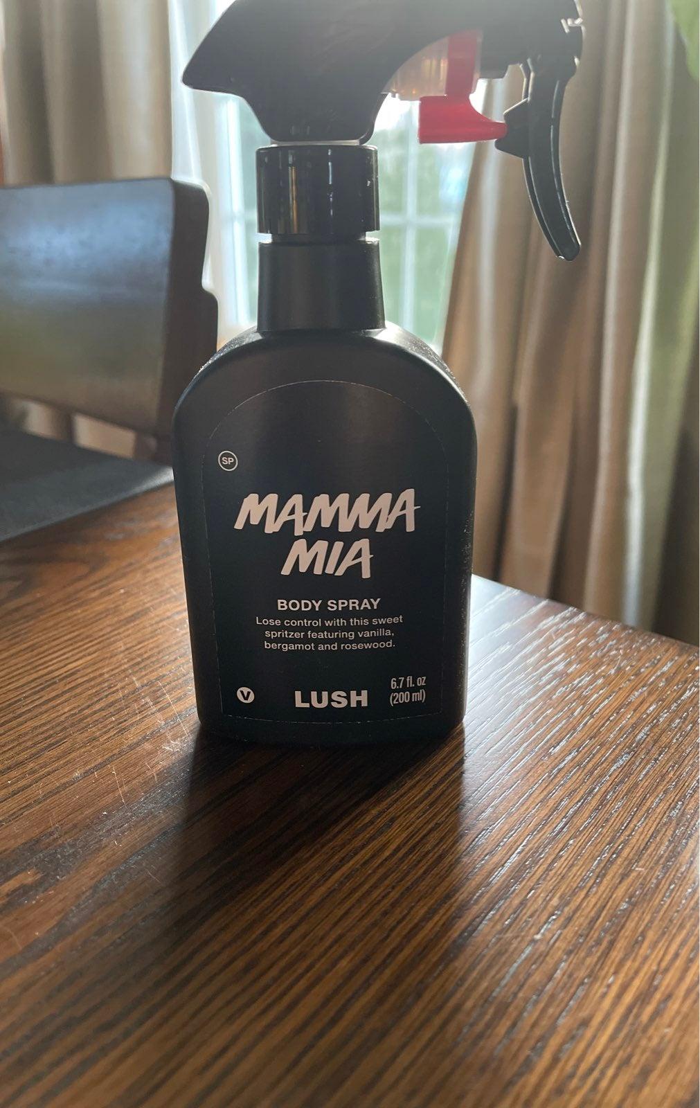 Lush Mamma Mia Body Spray