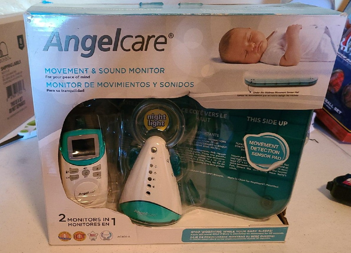 Angelcare Movement and Sound Monitor, Aq