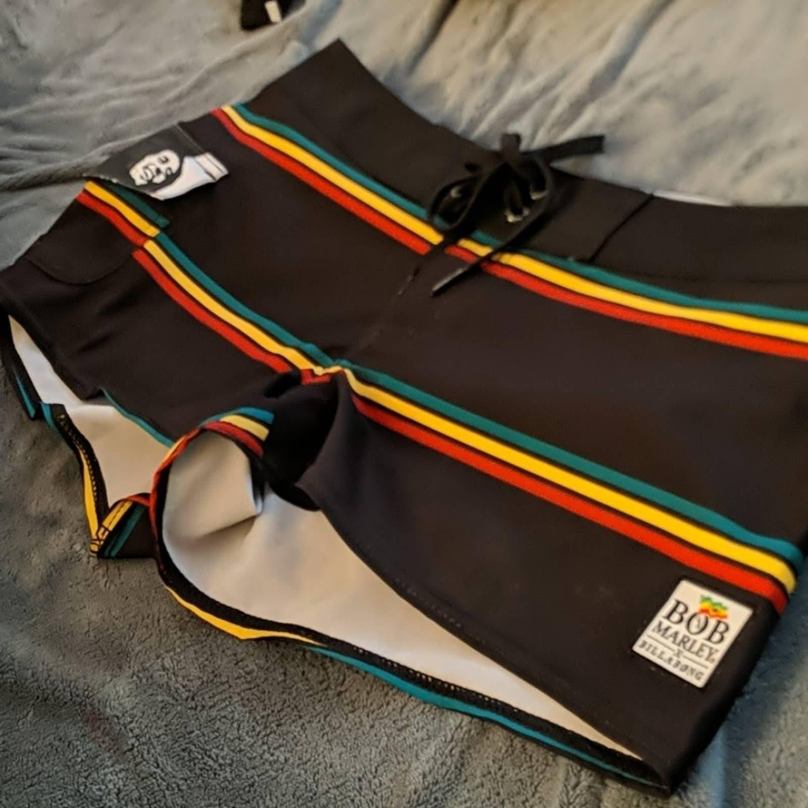 Billabong Bob Marley Surf Swim Short sz1