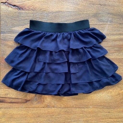 Zara Basic Flirty Ruffle Skirt