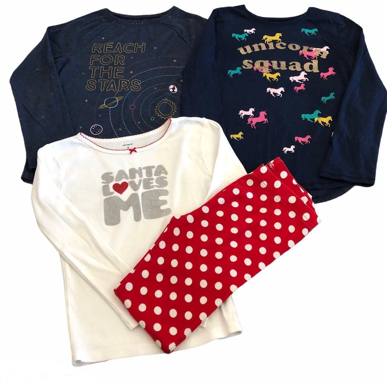 Girls 7 Long Sleeve Unicron Star Shirts