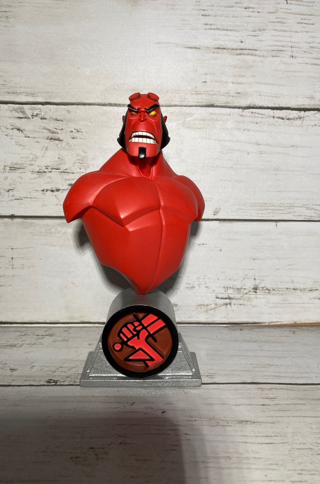 Hellboy Animated Sculpture Figurine