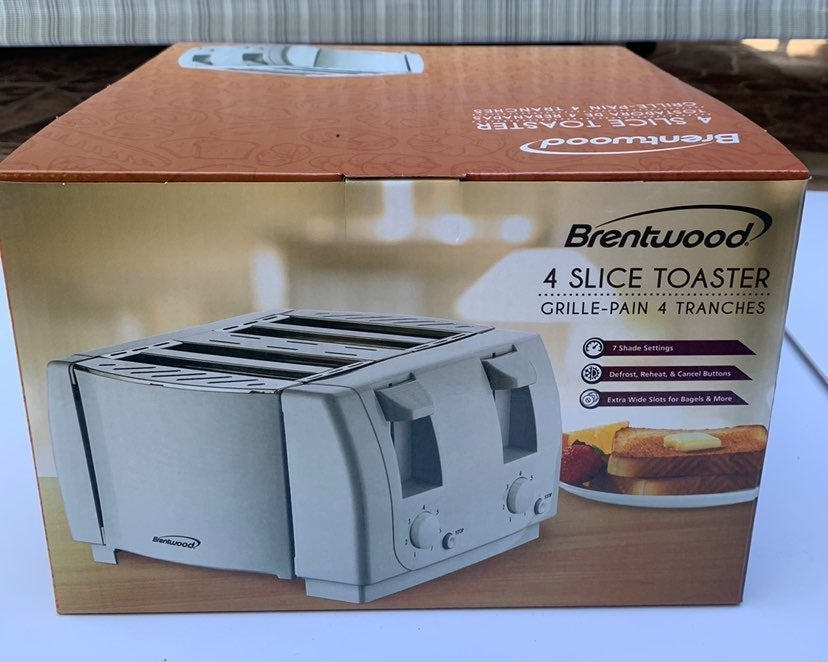 Brentwood Touch 4 Slice Toaster