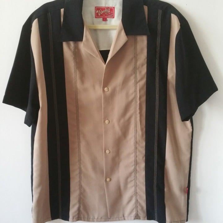 Woody's Retro Lounge Panel Shirt