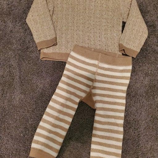 Winter beige cuddl dud pajama set