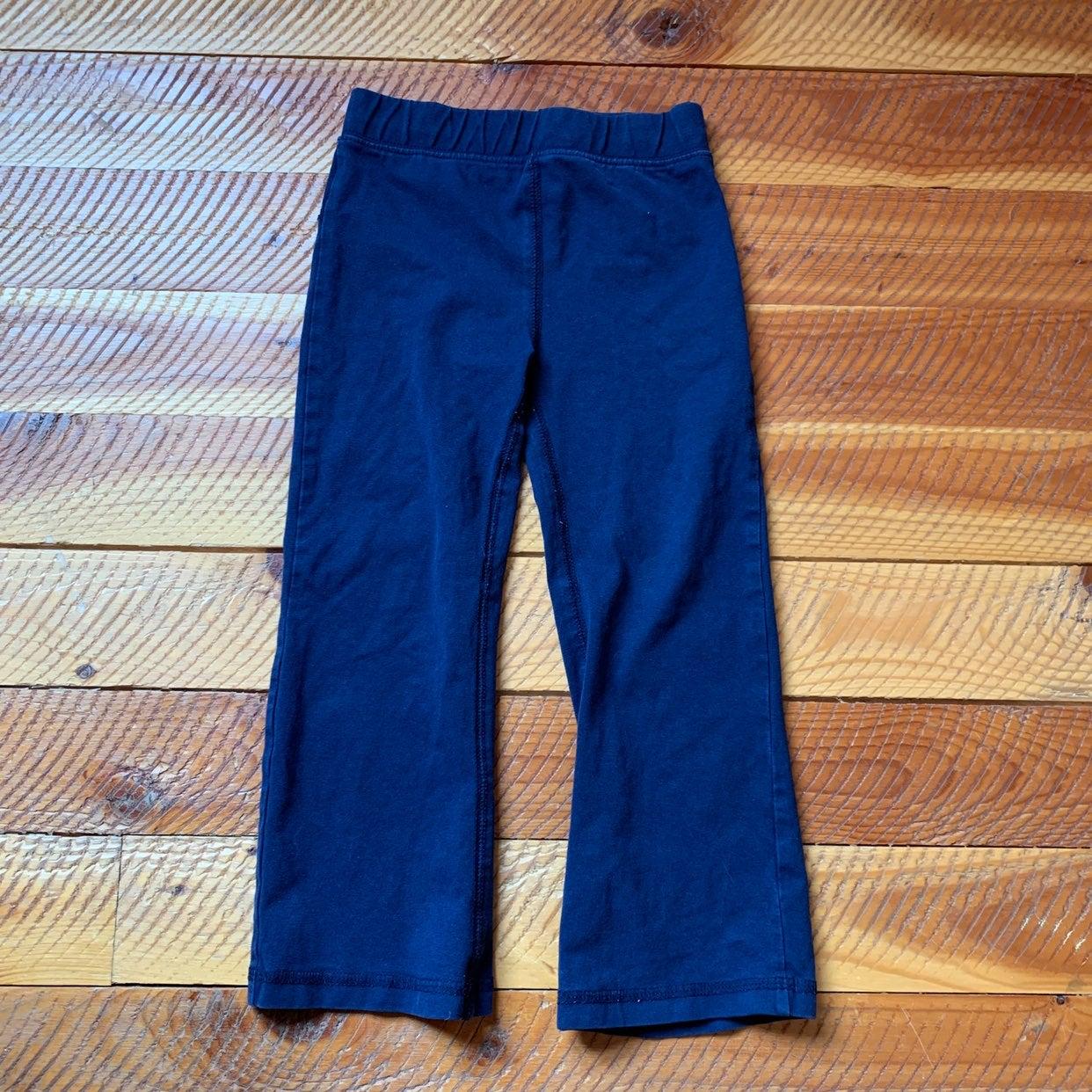 Primary classic wide leg leggings navy