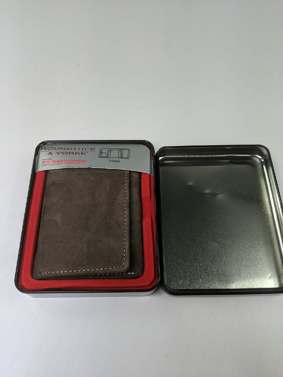 Roundtree and Yorke RFID wallet