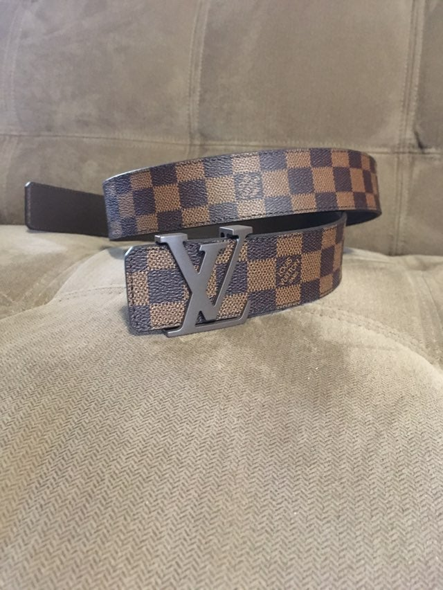 Louis Vuitton Brown Damier Belt 100cm 34
