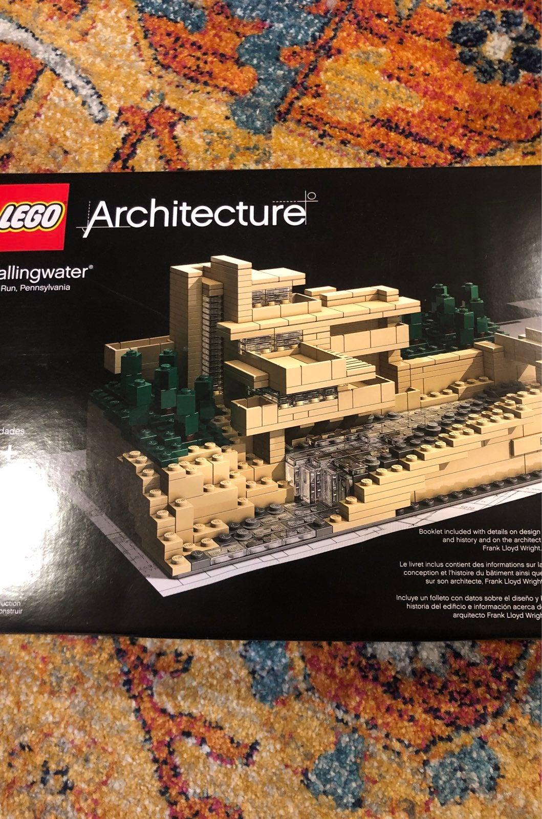 Lego Architecture -fallingwater