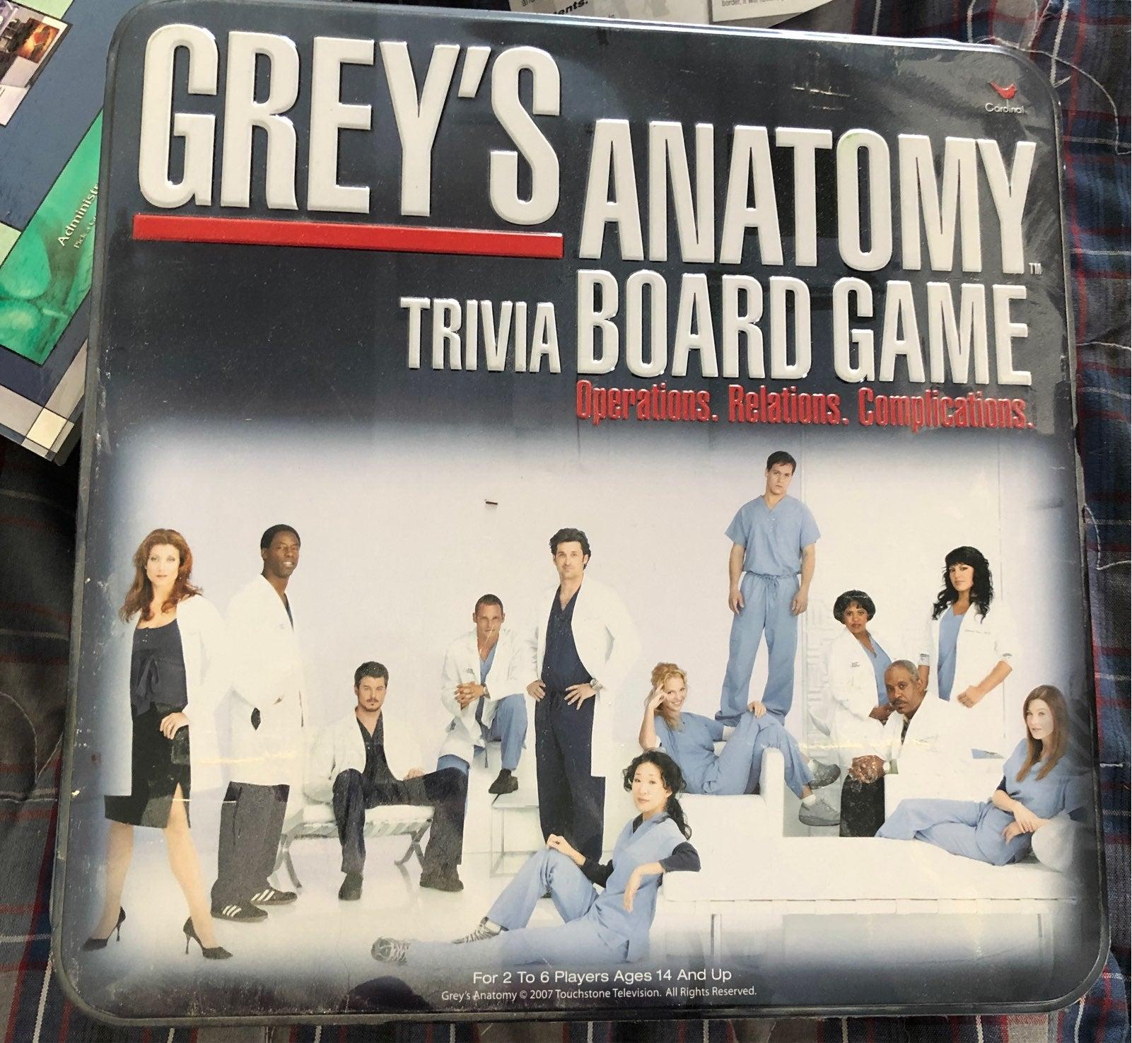 Grey's Anatomy board game