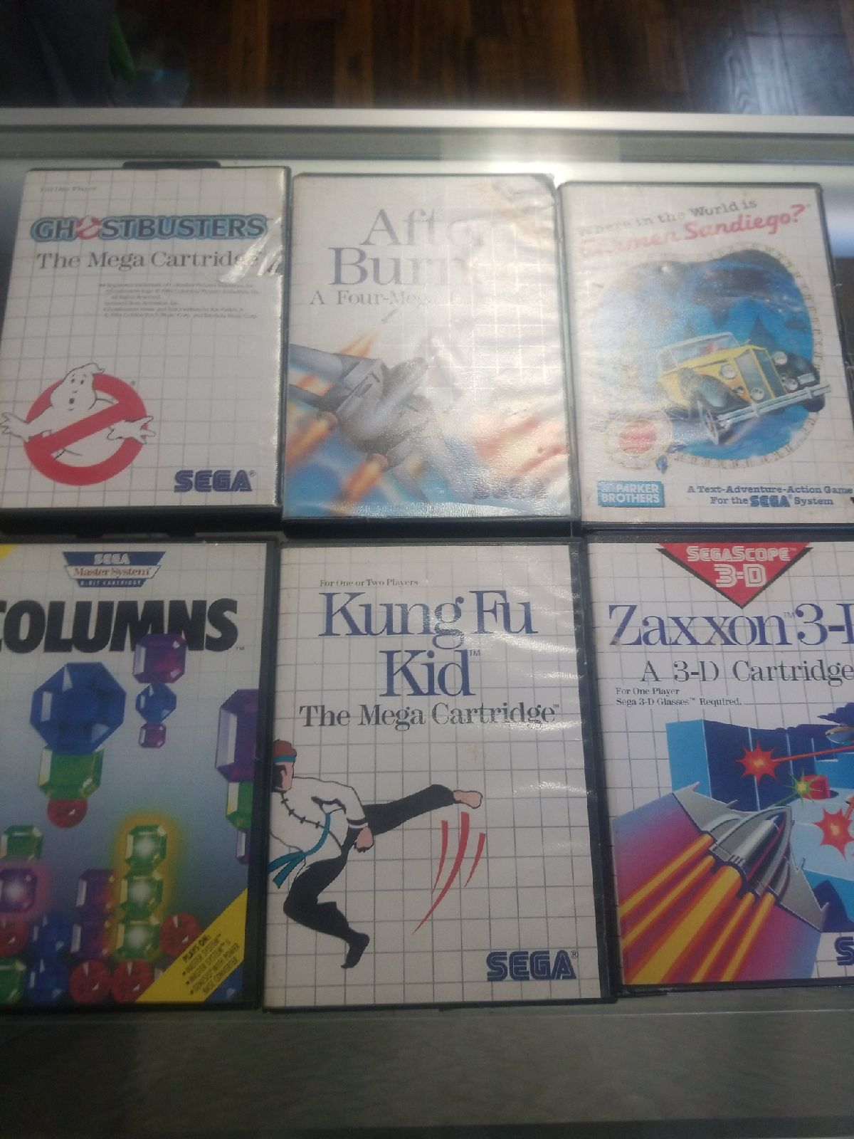 Sega Master System games lot