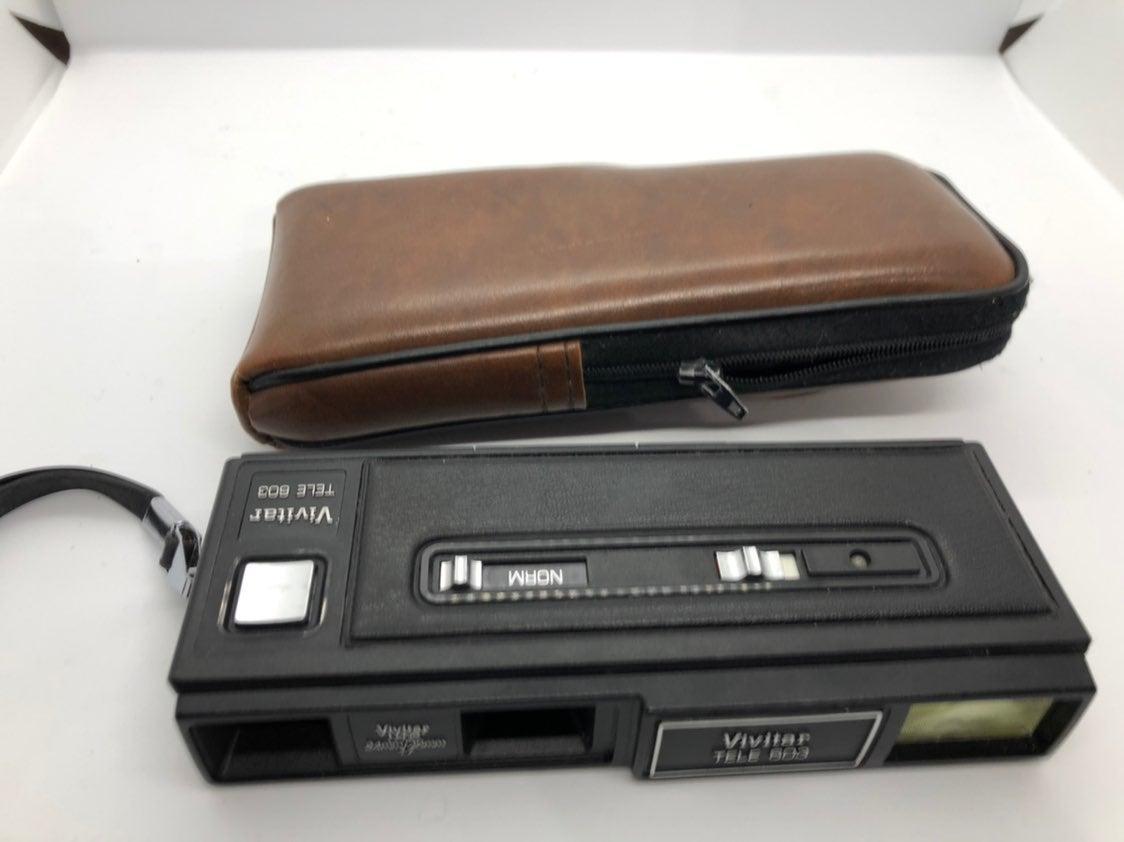 Vivitar TELE 803 vintage camera and case