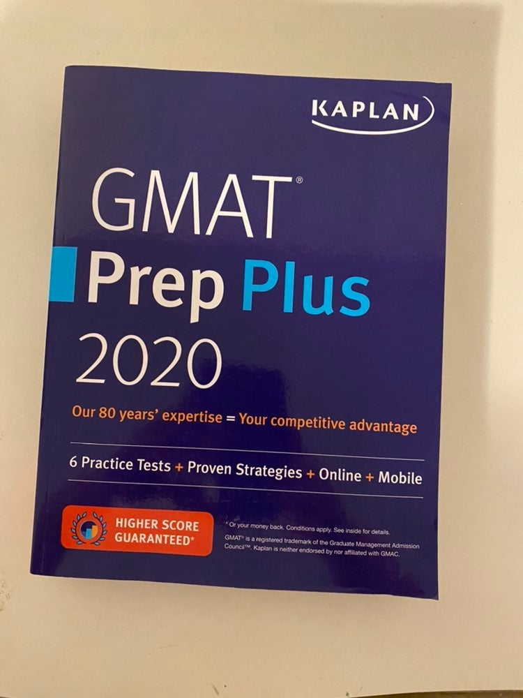 Kaplan GMAT 2020 Prep Book