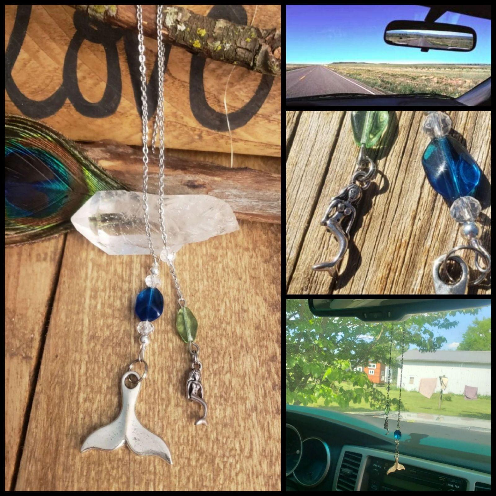 Mermaid Tails Car Jewelry decor Pendulum