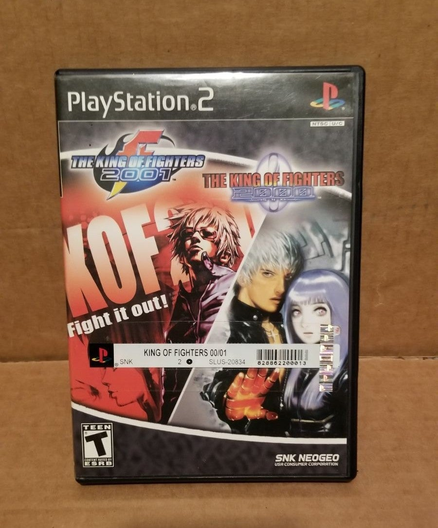 PS2 The King Of Fighters 2000 & 2001