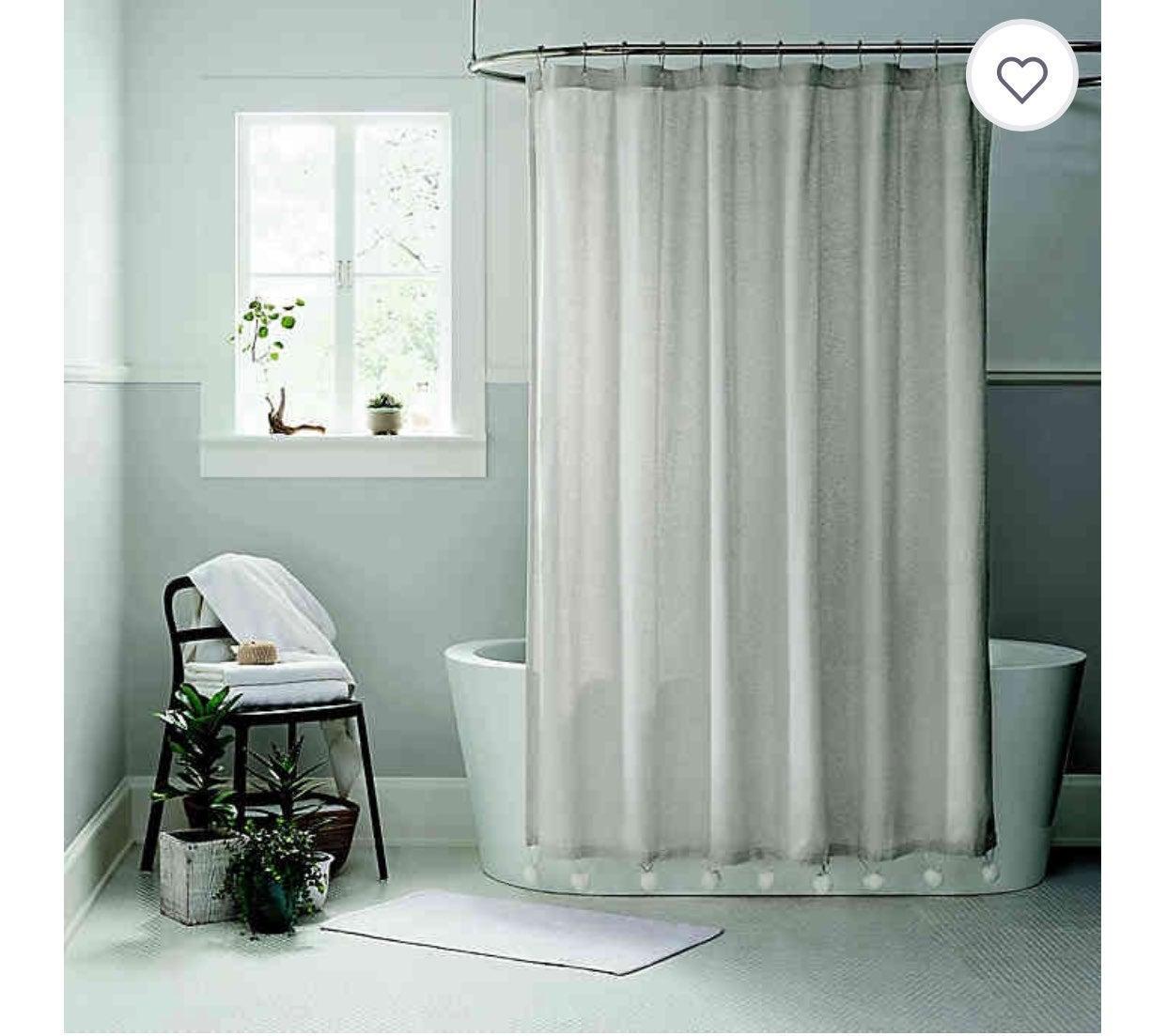 NEW Toro Ugg Shower Curtain Oatmeal