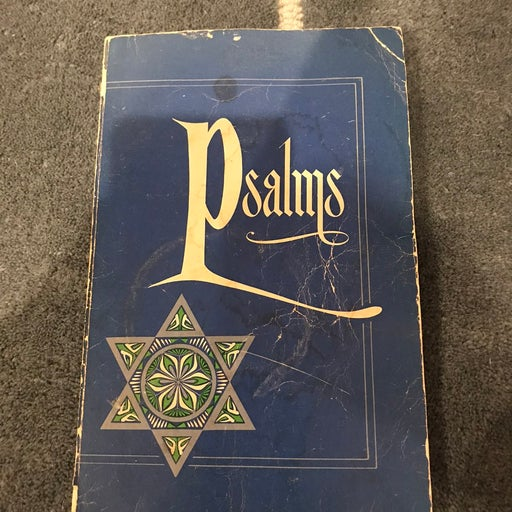Psalms book from 1969