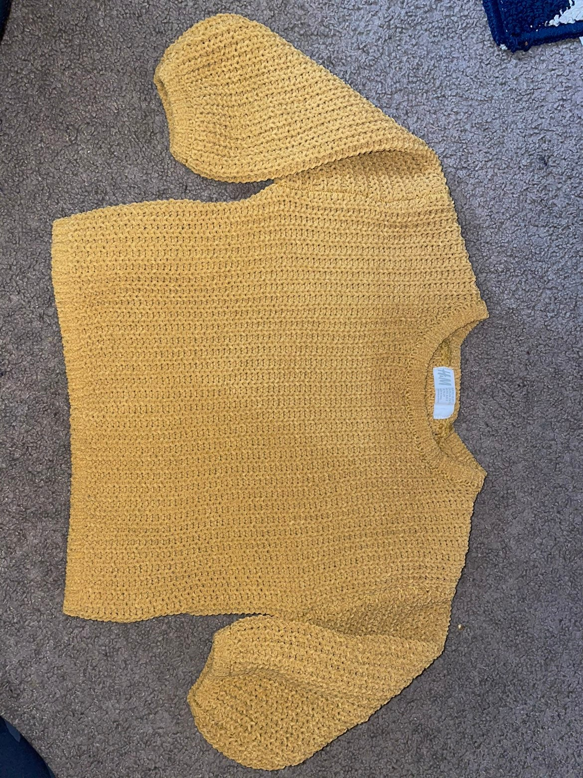 Toddler cable knit sweater