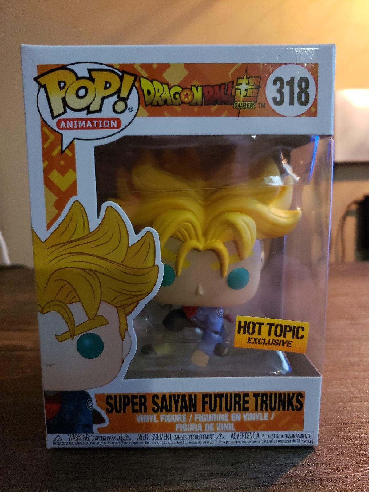 Funko Pop Super Saiyan Future Trunks