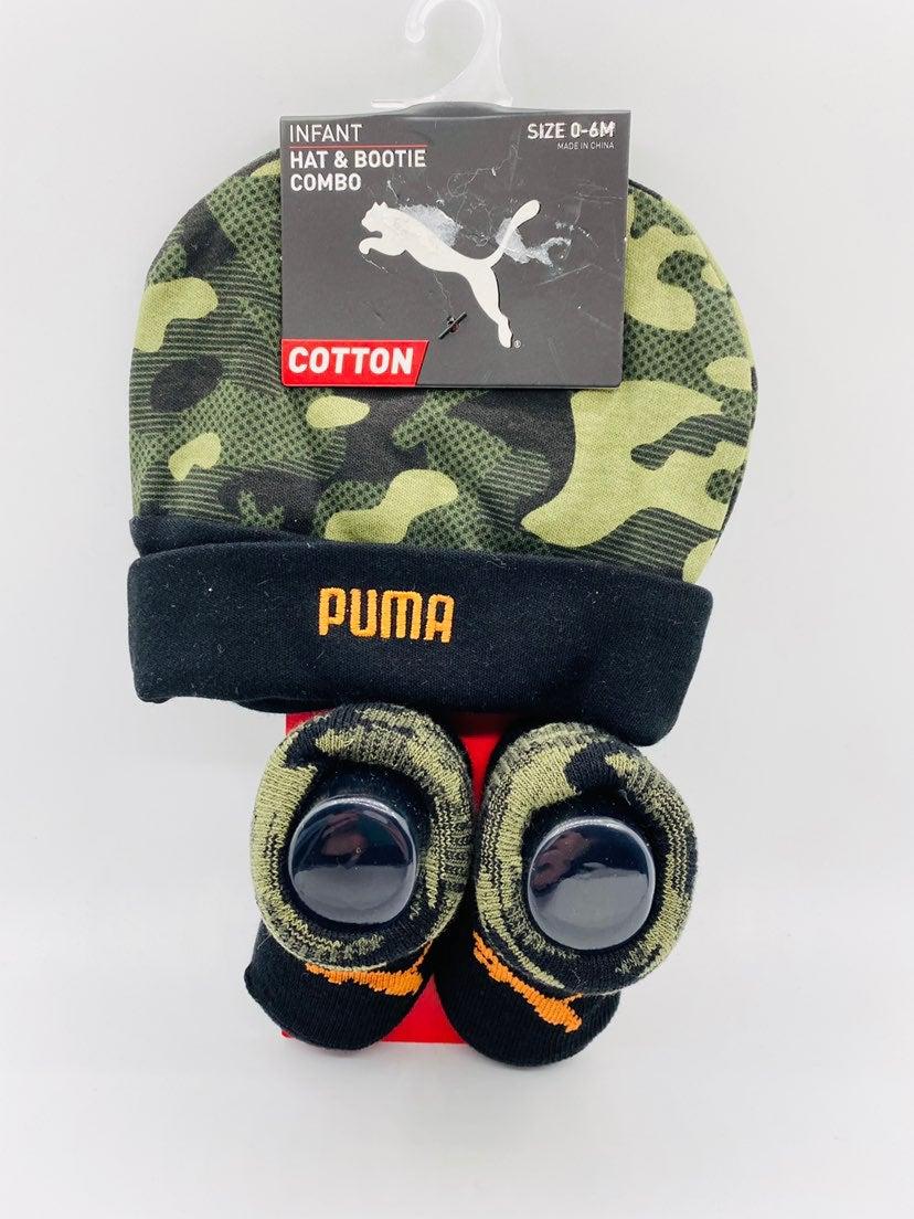 New Puma beanie & hat set