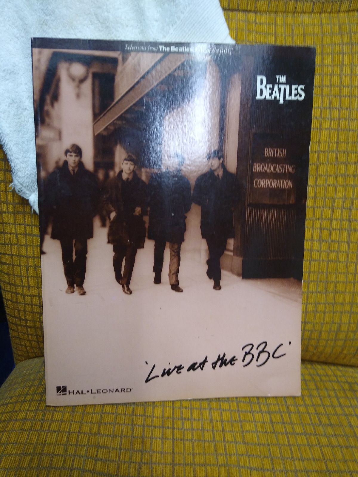 The beatles live at the bbc music book