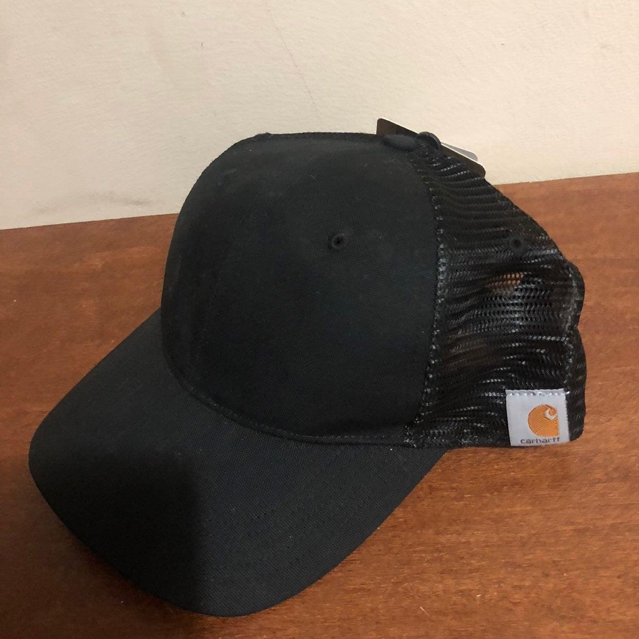 New adjustable black Carhartt hat