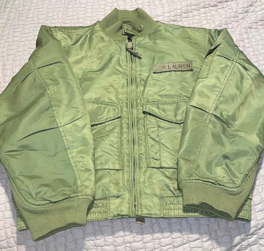 Vintage Ralph Lauren Men Bomber Jacket