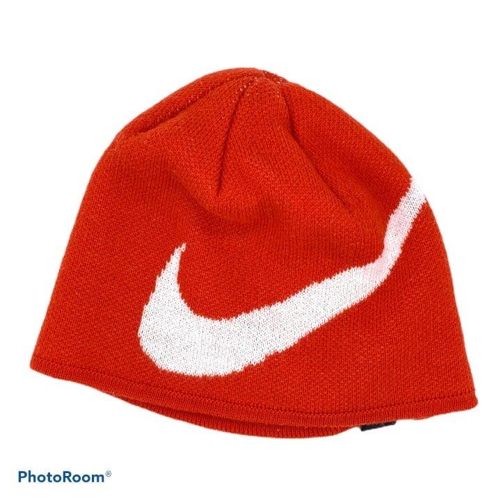 NIKE Youth Swoosh Beanie Ski Cap Hat