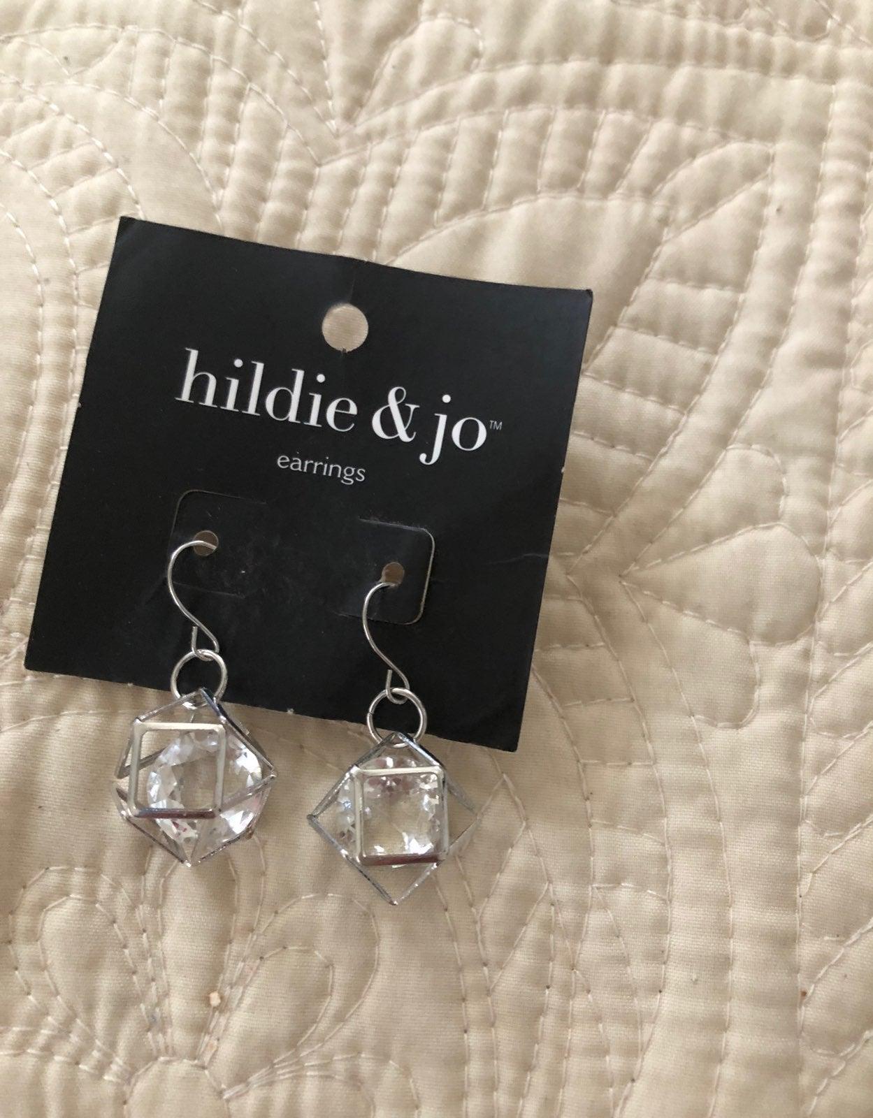Earrings silver Hildie & Jo NEW gorgeous