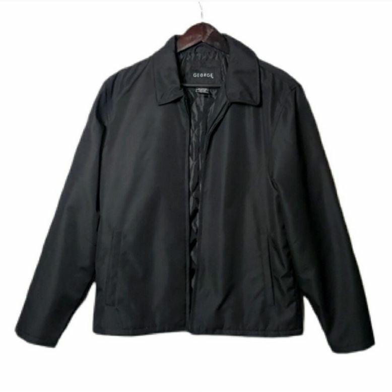 George   Black Lined Jacket