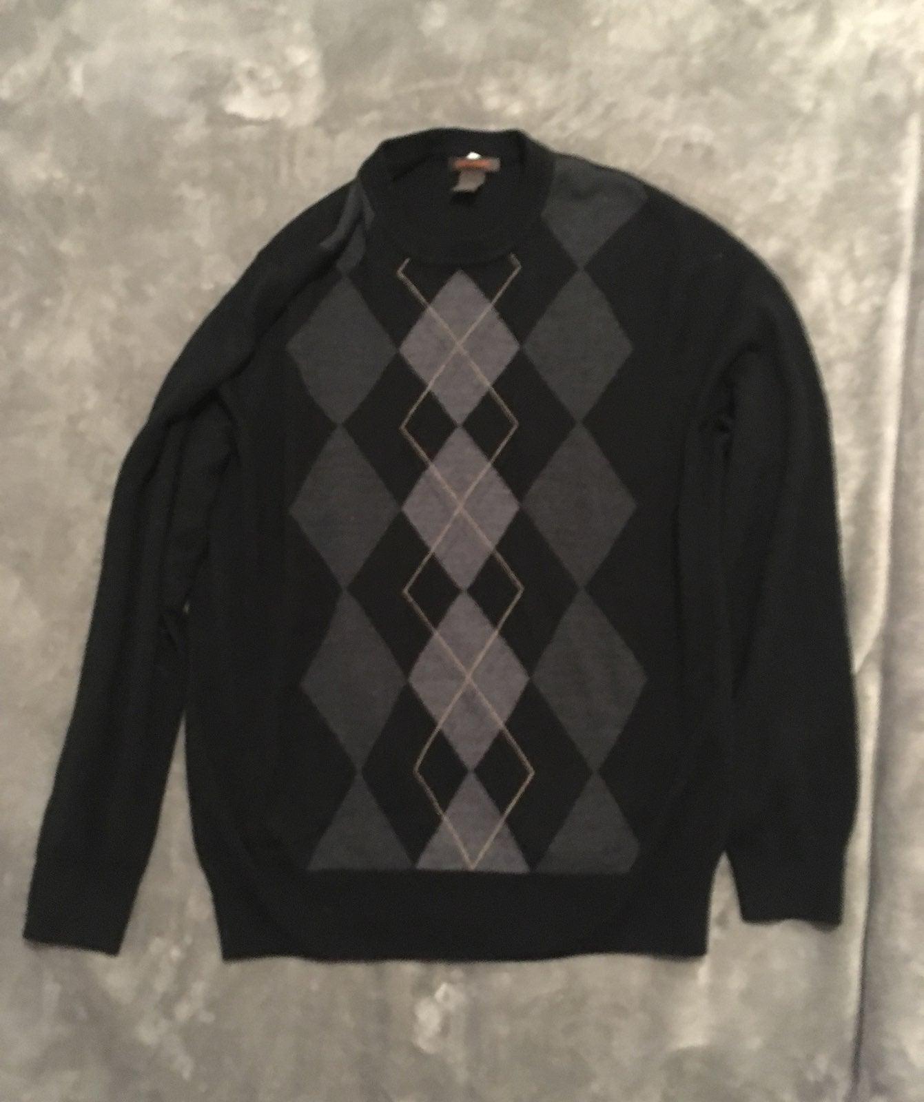 Y2k oversized preppy sweater