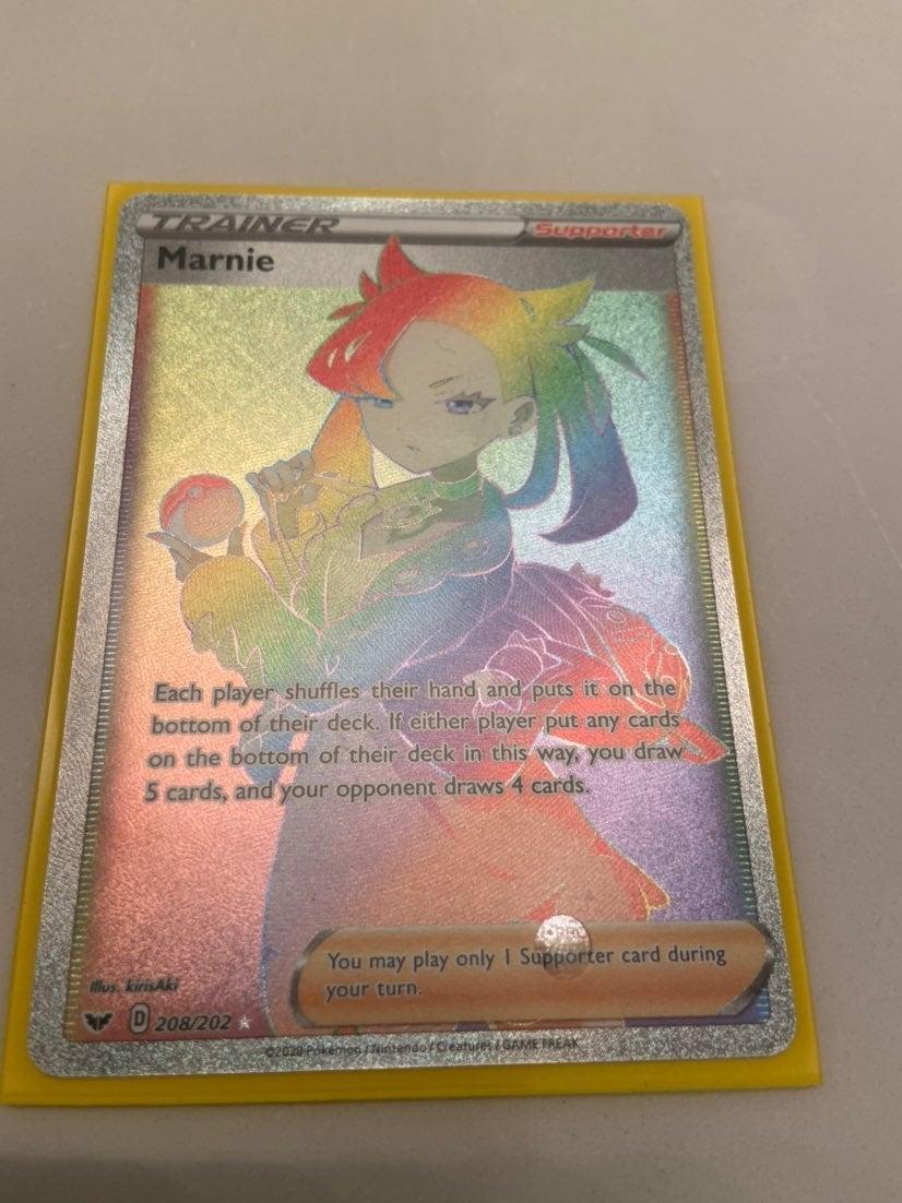 Rainbow Marnie 208/202 Sword & Shield
